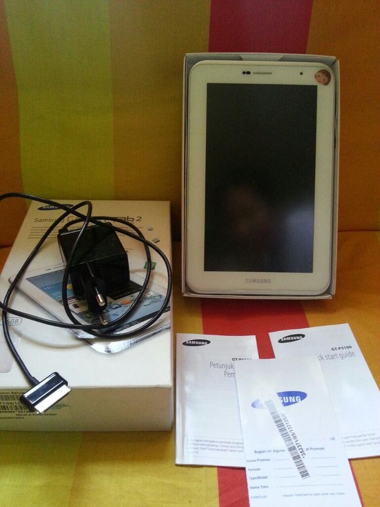Samsung galaxy Tab 2 7.0 P3100 16GB, White full set