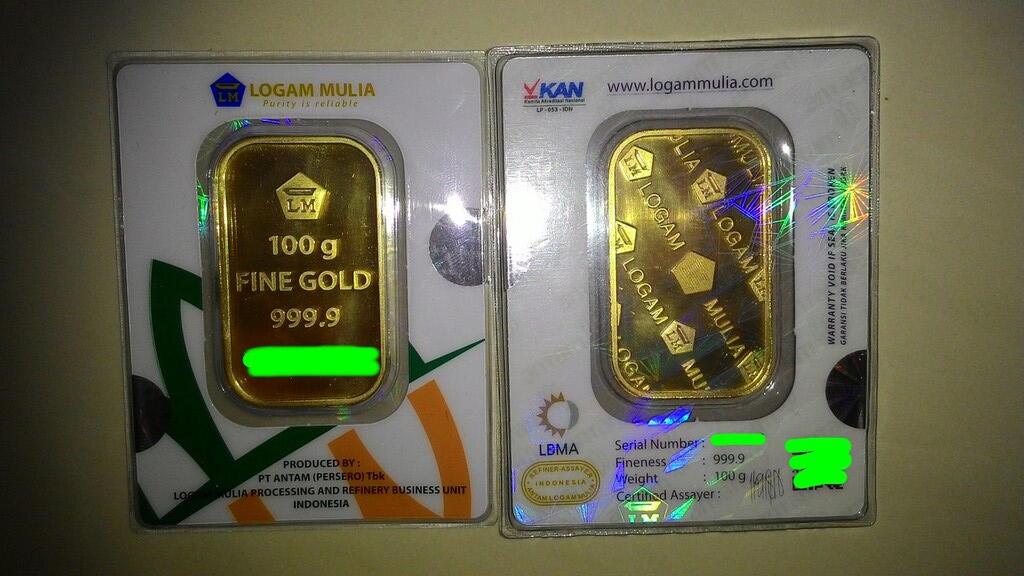 jual emas 100gr