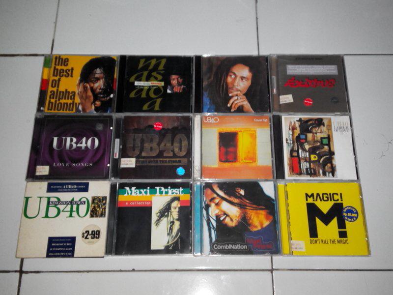CD Murmer Alpha blondy, Bob Marley, Maxi Priest, UB40