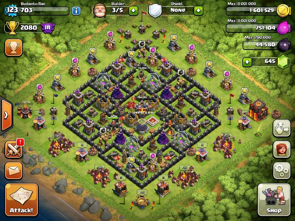 [WTS] iOS ID Clash Of Clans TH10 LVL123