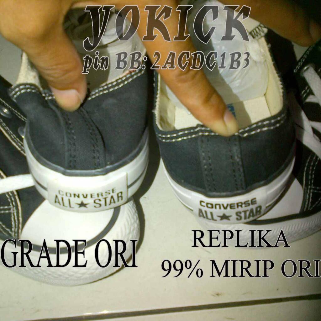 2ed41a27ceaf Terjual Sepatu CONVERSE ALL STAR Replika 99% Mirip ORI