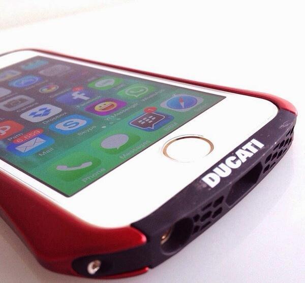 Draco Ventare Aluminum Bumper Ducati for iPhone 5/5S - 6 4.7 - Redy stok Lunatik Case