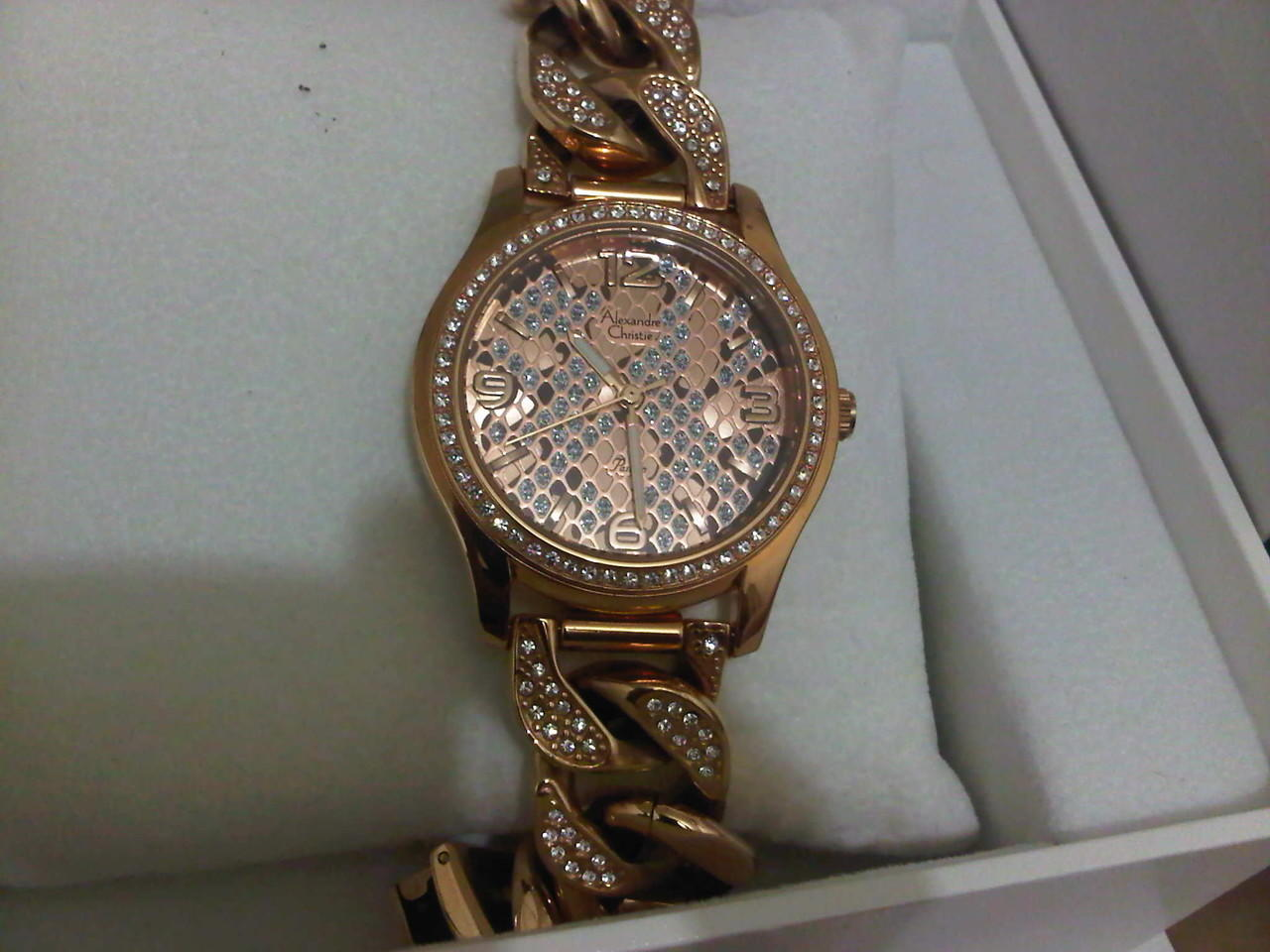 Alexandre Christie Rose Gold