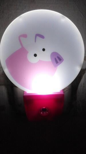 lampu tidur led dengan sensor cahaya