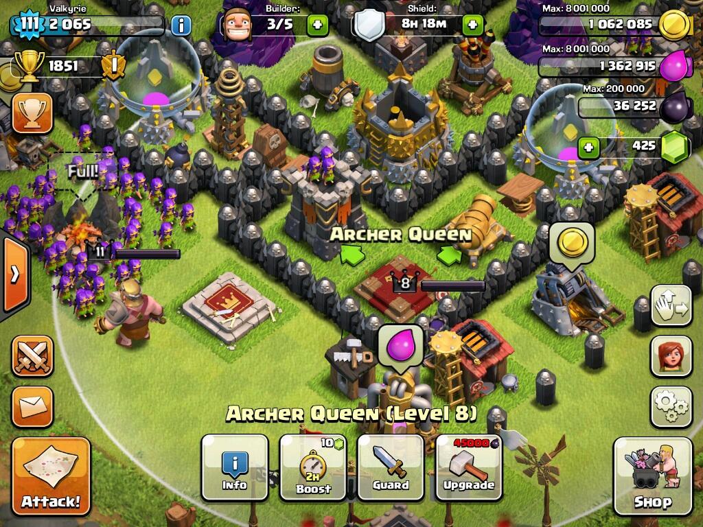 Jual id clash of clans th9 (upgrade terus sampe kejual) bu gan