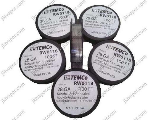 KANTHAL A1 WIRE 28 AWG by TEMCO