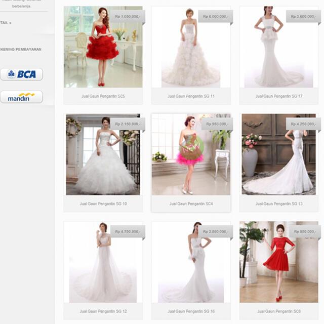 Terjual Jual Gaun Pengantin Murah ǀ Xp Bridal Kaskus
