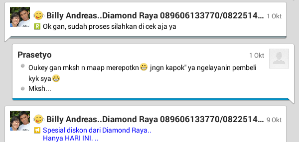 [JUAL] DIAMON RAYA... Jasa isi Gems, Diamond, Coin, Crystal COC Android /IPhone Ready