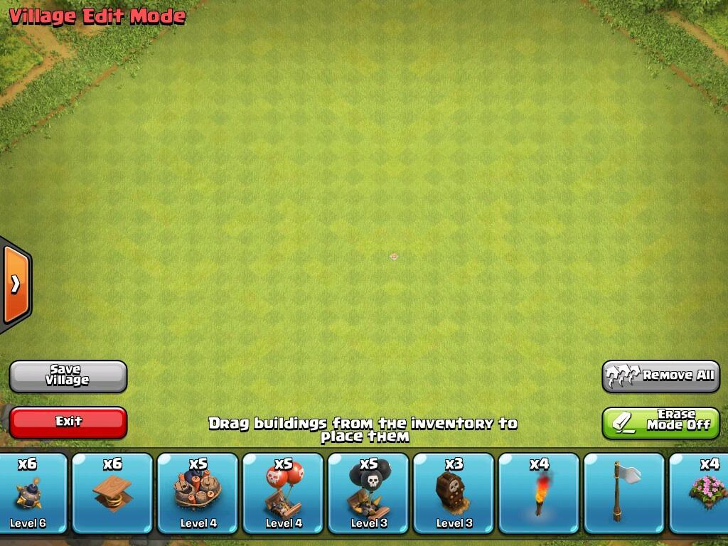 WTS id coc TH 10 level 142 def mentok troop mentok archer queen level 40