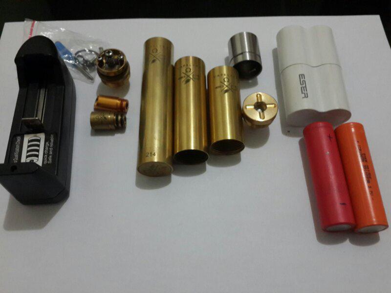 Jual BU Vapor/Vaporizer Vapelyfe Mod inc Rda free 2 baterai+chg