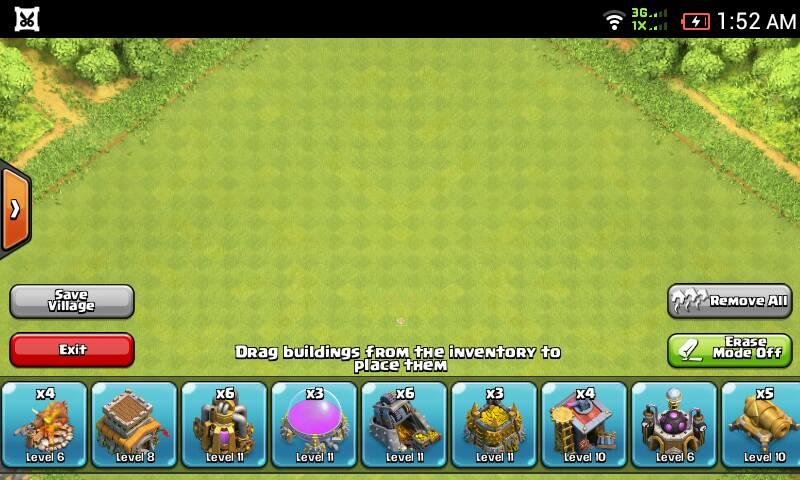 jual ID Clash Of Clans TH 8