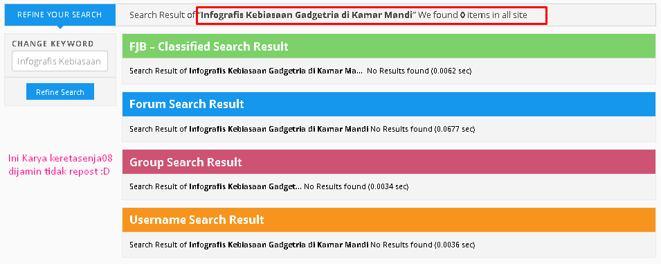 Infografis Kebiasaan Gadgetria Di Kamar Mandi Kaskus