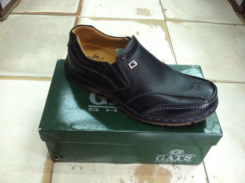 Terjual Sepatu Kulit GATS