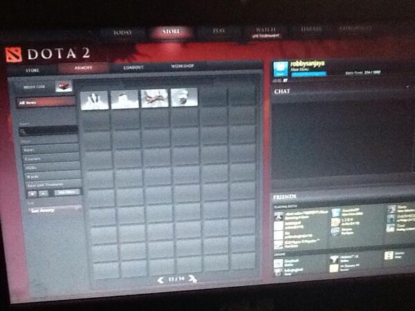 ID DOTA 2 full item set level 87 mantap nego suka-suka