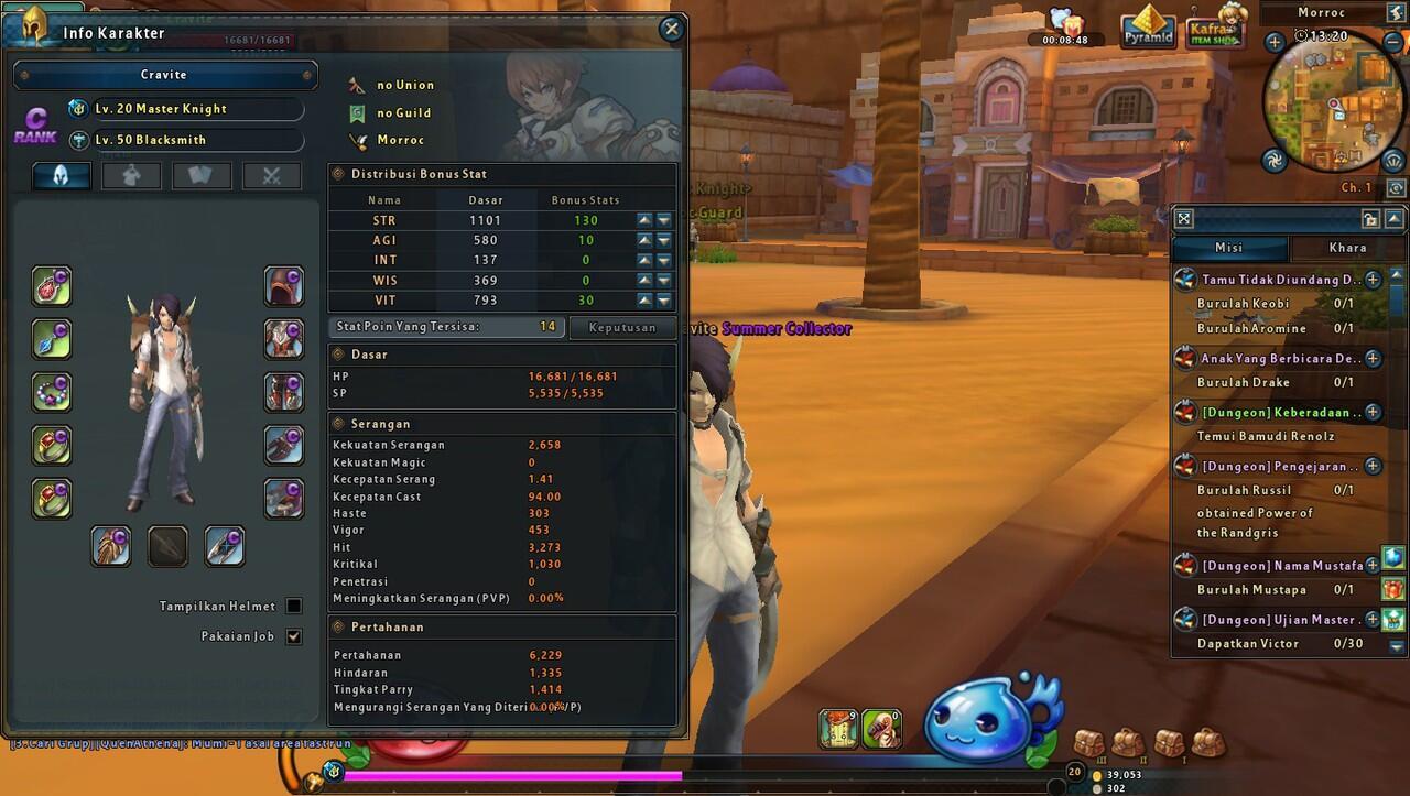 RO 2 ML Knight - Blacksmith (Server IRIS)