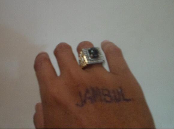 penggemar batu cincin / akik orang goblok!