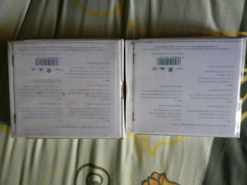 jual cd,cardigans box set,genesis box set,deep purple box set,green day,steve vai