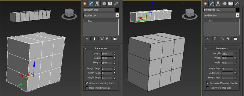 Basic Modeling - Attach Detach and Merging