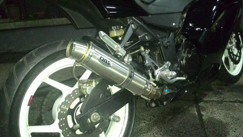 Second DBS Thailand Slip-On Ninja 250r/fi