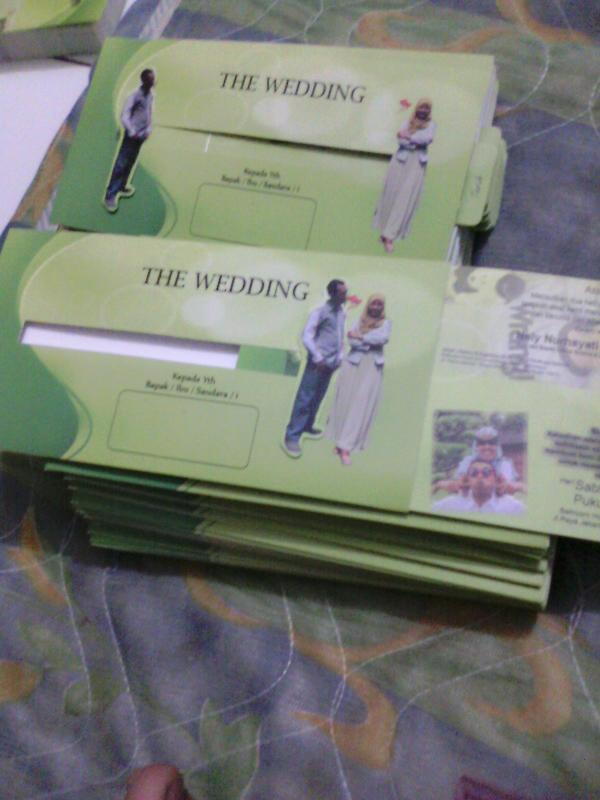 Jasa Cetak Undangan Pernikahan Berkualitas Bandung