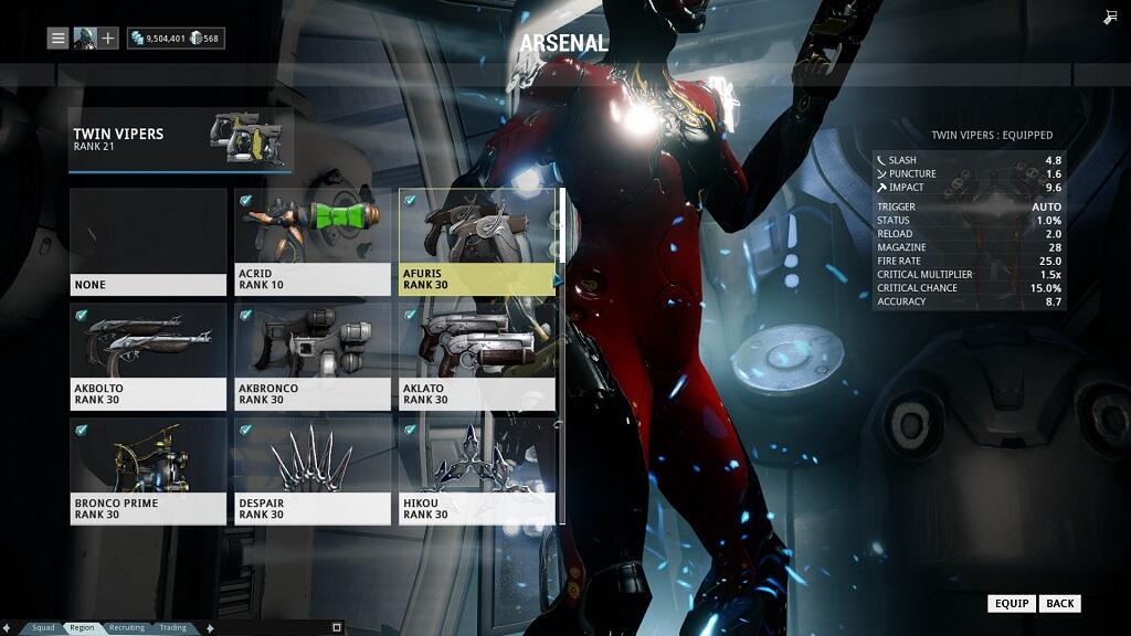 Jual ID Game Warframe