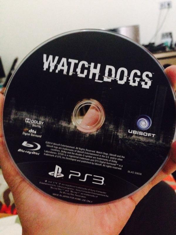 Jual Watch dog ps3 bluray second palembang plg