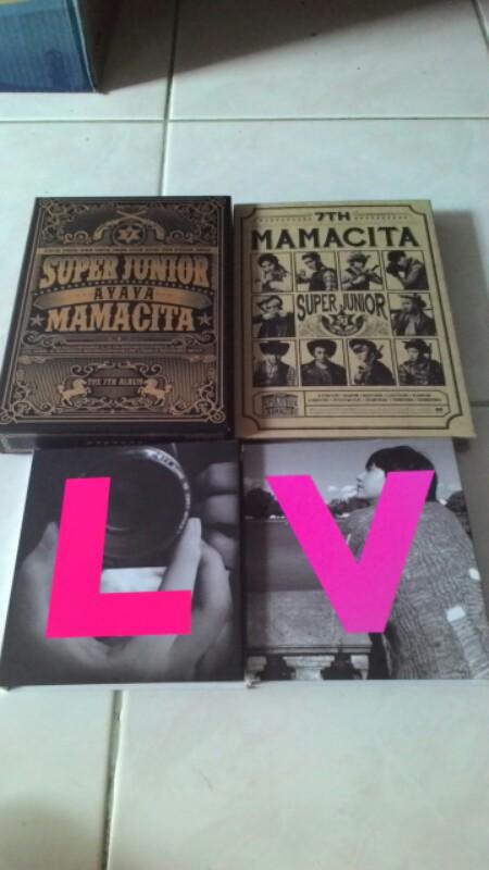 UNSEALED ALBUM MAMACITA DAN THIS IS LOVE SUPER JUNIOR