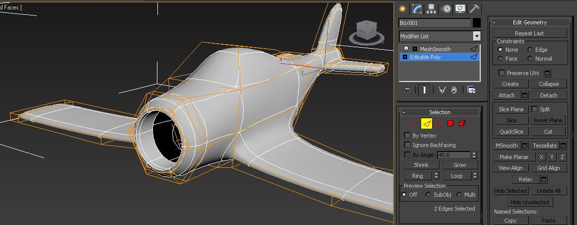 Ayoo gannnnn ... buat pesawat pakai Box Modeling !!! ... SEMUA PASTI BISA !!