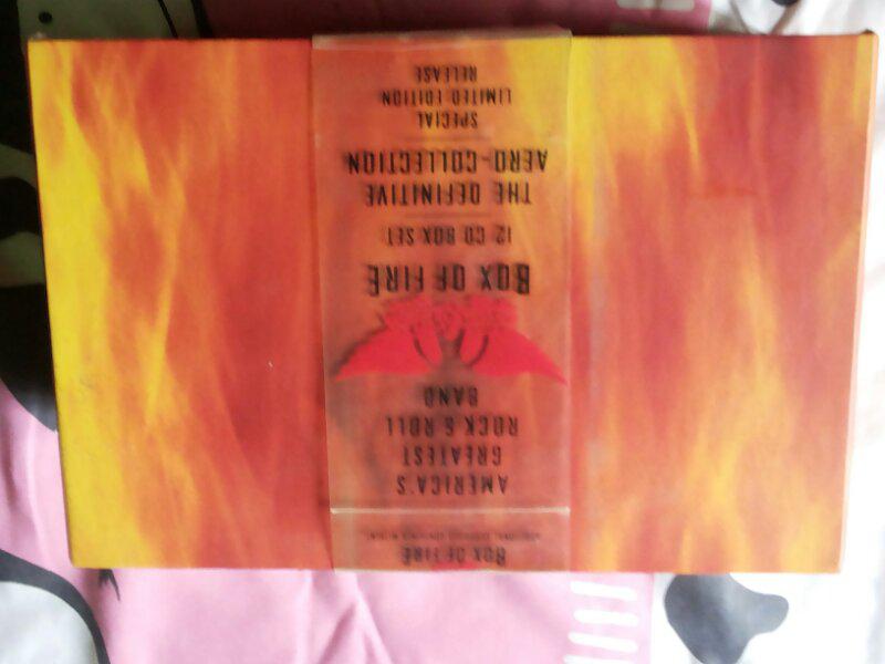 aerosmith box of fire (12 cd album + 1 cd single bonus)