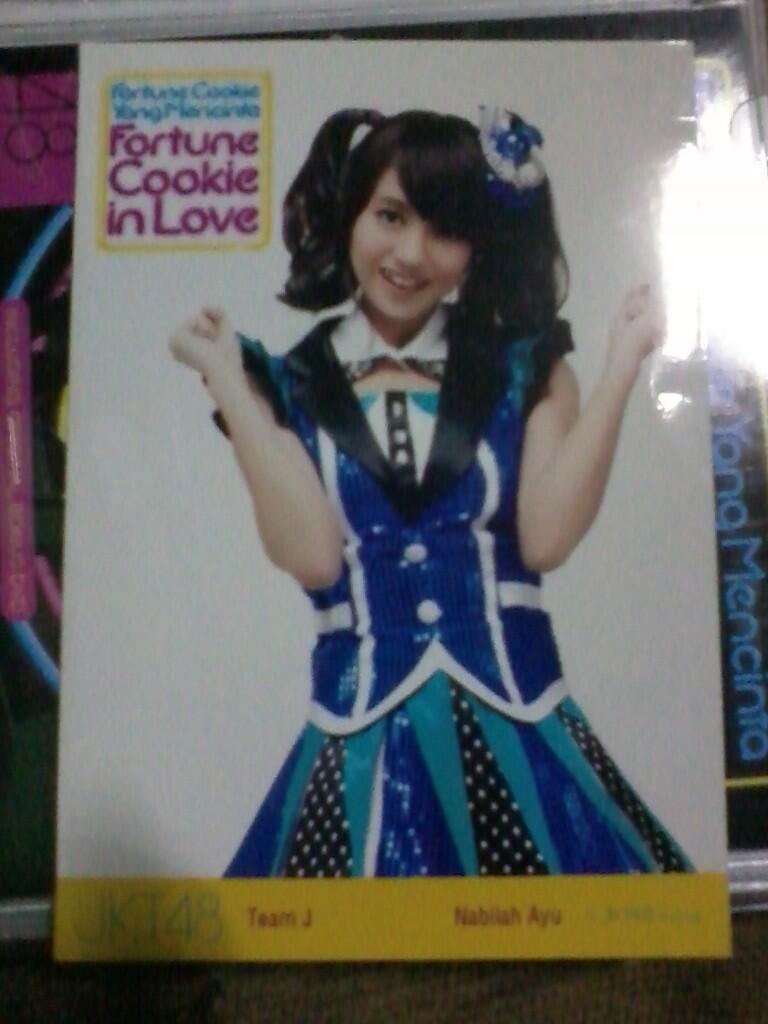 Trade PP Melody Nabilah dengan CD JKT48