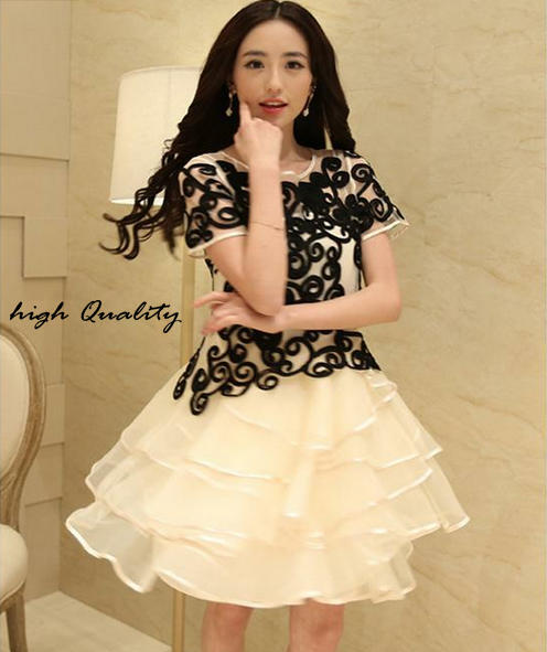 DRESS CANTIK IMPORT FROM KOREA ASLI, GAUN PESTA