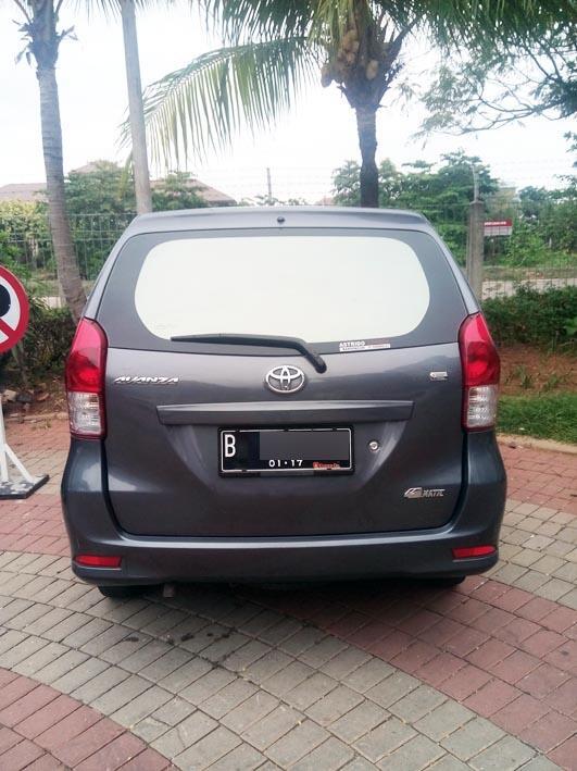 Toyota Avanza E Matic, Tahun 2012