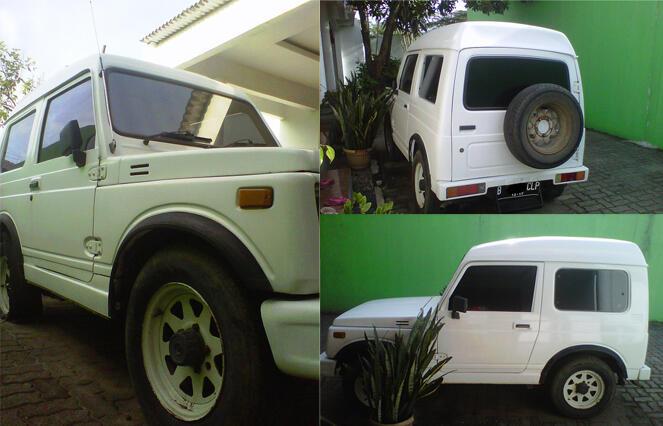 Suzuki Jimny Katana 89 Putih