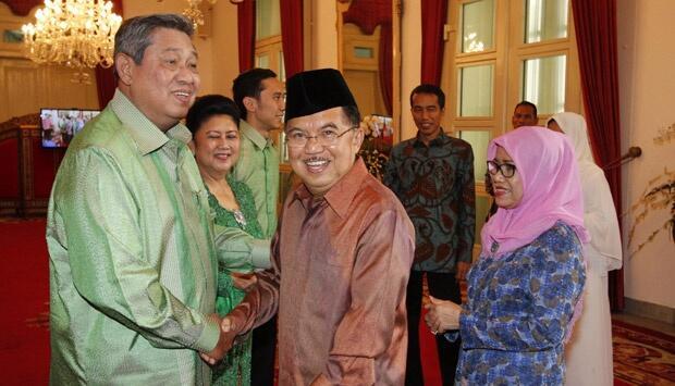 Datang ke Kantor JK, SBY: Gantian