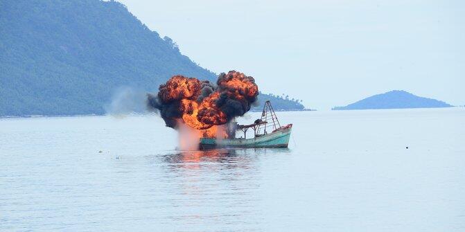 Menteri Susi: (soal kapal Vietnam) jangan ejek kami (Curhat Bray)