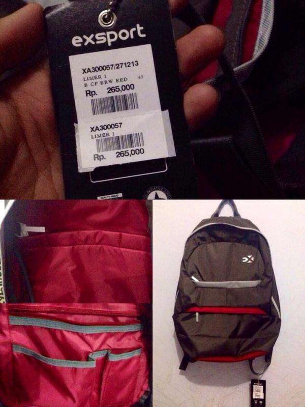 enjoyed the pict jual tas export NEW unisex 8a57b4cf13