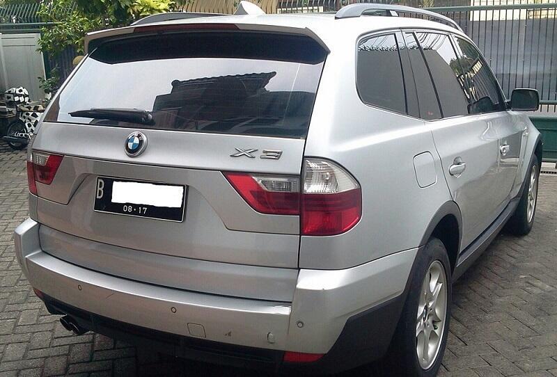 Jual BMW X3 2.5 SI A/T tahun 2007 silver abu abu metalik