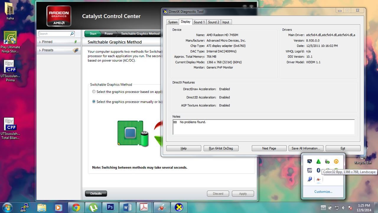 Cara mengaktifkan VGA CARD AMD RADEON 6470M pada DELL INSPIRON N4050 - Page 2 | KASKUS