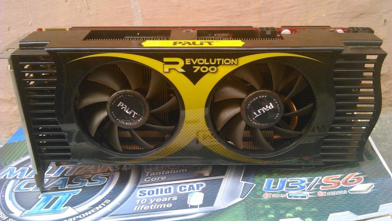 PaLiT Revolution R700 HD4870X2 2GB 512bit GDDR5, Rendering masuk sini gan..[BANDUNG]
