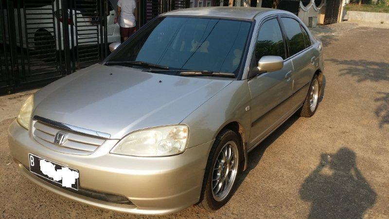Honda Civic VTi 2001 A/T Warna Emas, tawar sesukanya..