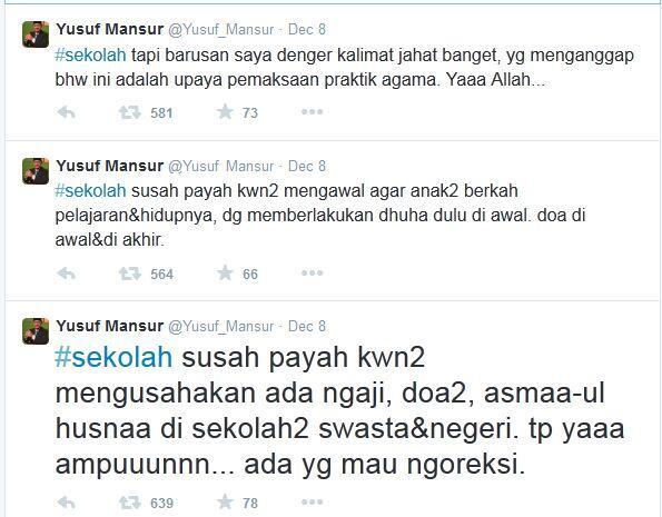 [KELAKUAN PANASBUNG] Usai Emosi Kritik Kurikulum, Yusuf Mansyur Minta Maaf ke AB