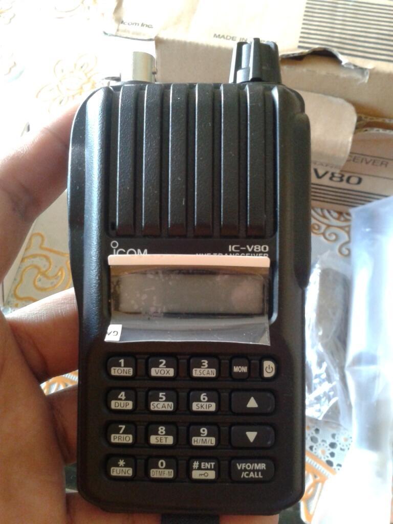 HT Icom IC-V80 BNOB