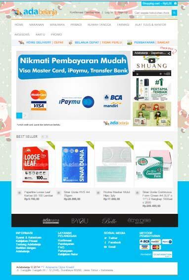 (Surabaya) kini dilengkapi Adabelanja.com - Website jual beli KEBUTUHAN SEHARI-HARI!