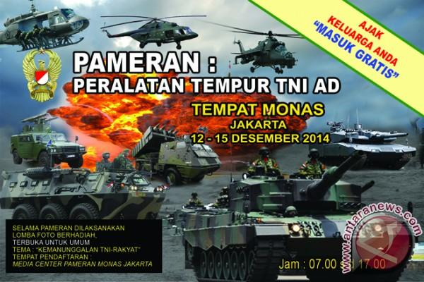 TNI kembali gelar pameran peralatan tempur di Monas