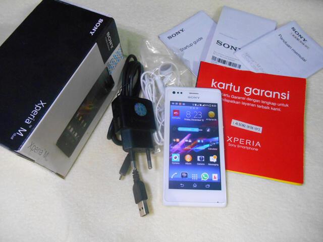 Sony Xperia M Dual FULL SET - COD / REKBER OK