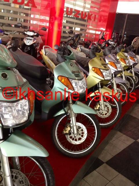 Terjual Yamaha Nouvo Lele 2002 100 New Ngabisin Stock Nouvo Solo
