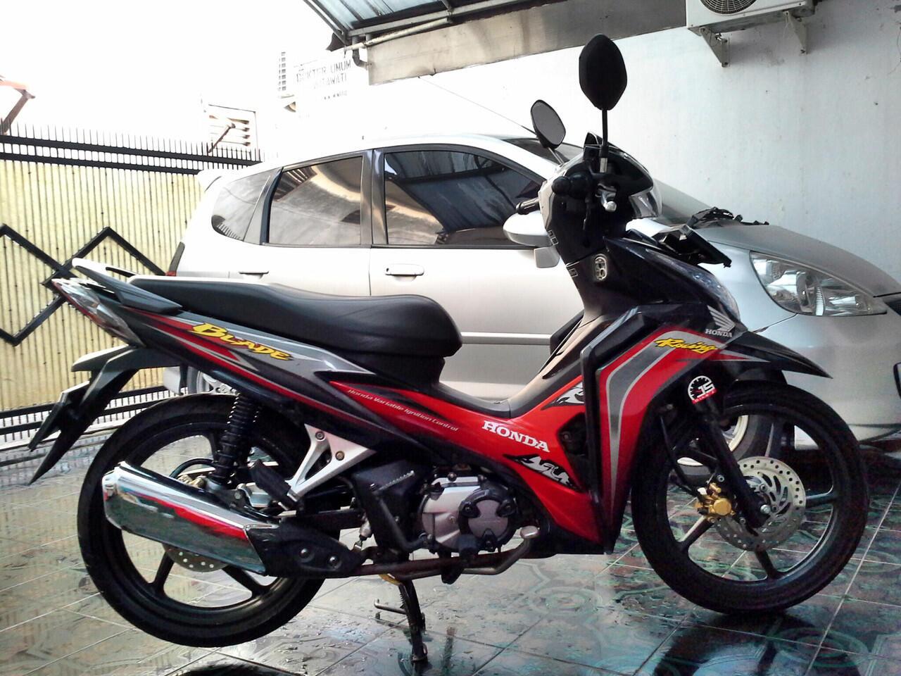 Jual Honda New blade 2011