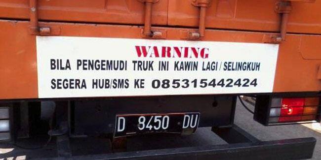 Unduh 86 Gambar Warning Lucu Dan Gokil Terlucu