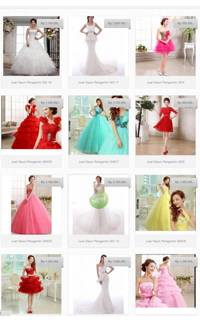 Terjual Xp Bridal Jual Gaun Pengantin Import Terbaru Kaskus