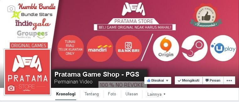 Jual Game PC Digital Steam / Origin, dll. Harga berSaing